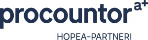 Procountor a+ Hopea partneri